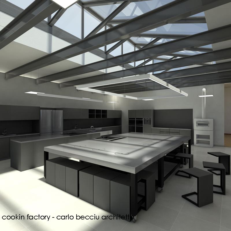 Carlo becciu architetto cookin factory torino - Scuola di cucina torino ...
